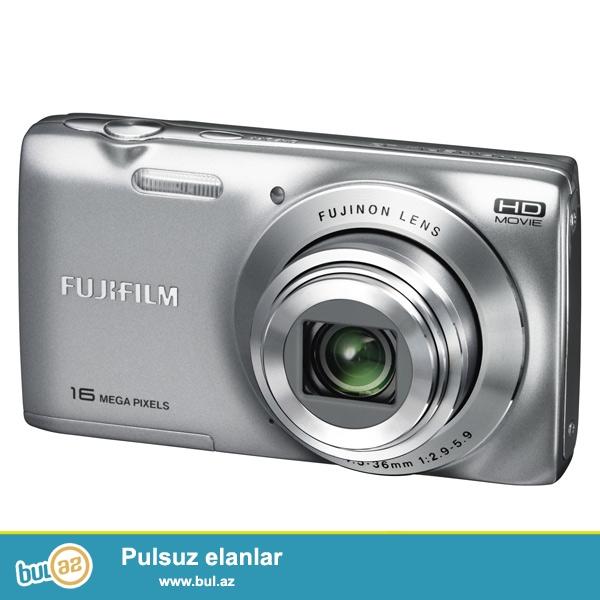 Fotoaparat demek olarki tezedi. Model Fujifilm JZ250 SILVER...