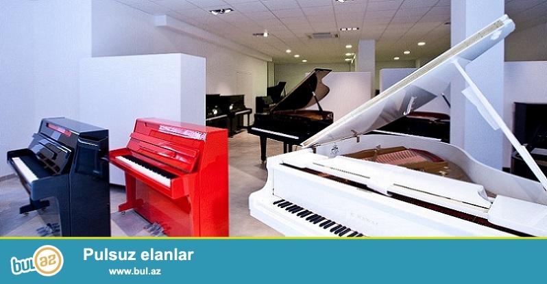 Almaniya, Çexoslovakiya, Rusiya istehsalı yeni ve 2-ci el pianolar satılır...