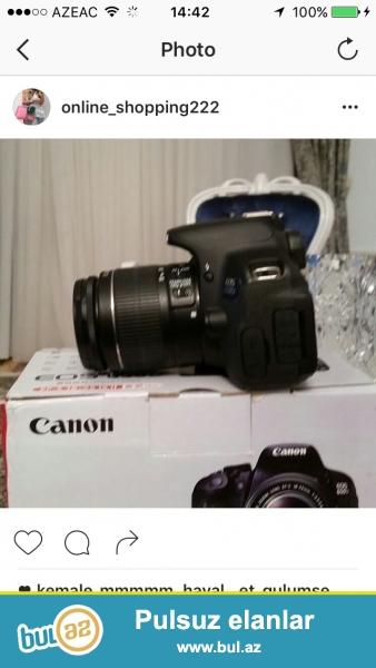 Canon 650 d yenidi eldedi