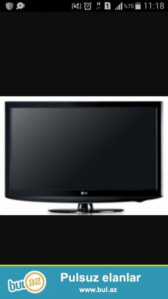 Televizor 2 il evvel Bakonddan baja qiymete alinib...