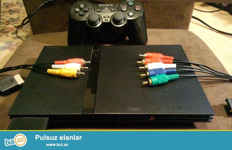 Playstation 2 satıram .herşeyi var .ustada olmayıb ...