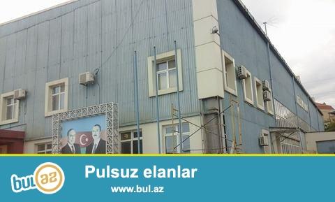 Xətai rayonu Gəncə pr.55 sotda 22sotunda tikili alt-üst özəl mülkiyyətli zavod satılır...