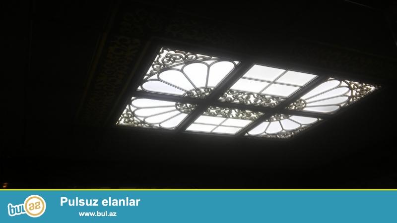 Aliminium asna tavan islerini her nov dizanyda gorulmesi...
