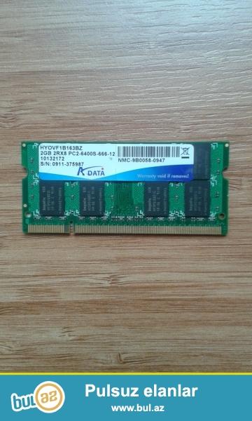 Təzədir.İşlək vəziyyətdədir. 4 GB-lıq RAM əldə etmək üçün satılır...