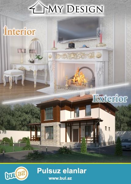 M Y <br /> D E S I G N <br /> interior & exterior <br /> <br /> My Design studiasi ferdi yasayis evlerin, menzil, ofis ve restoranlarin interyer ve eksteryer dizayn tertibatini heyata kecirir...