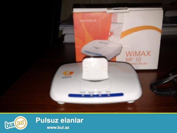 Sazz wifi router SATIRAM. <br /> Ela veziyyetdedir...