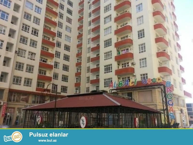 В элитной и заселенной новостройке, на территории Ясaмальского района в посёлке Новый Ясамал продаётся 2 комнатная квартира...