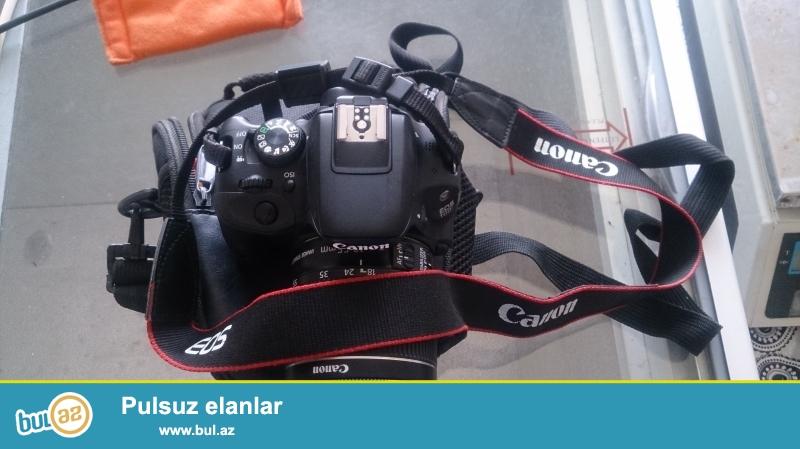 Eos 100d orginal canon satilir tecilli<br /> Her bir seyi var usdunde<br /> 2 ayin fotoaparatidi senedleride var