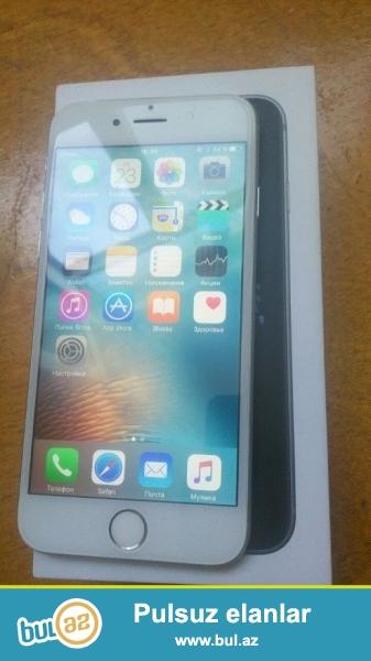 İphone 6 Dubay satılır.Qutusu ilə bərabər original aksesuarları da verilir.