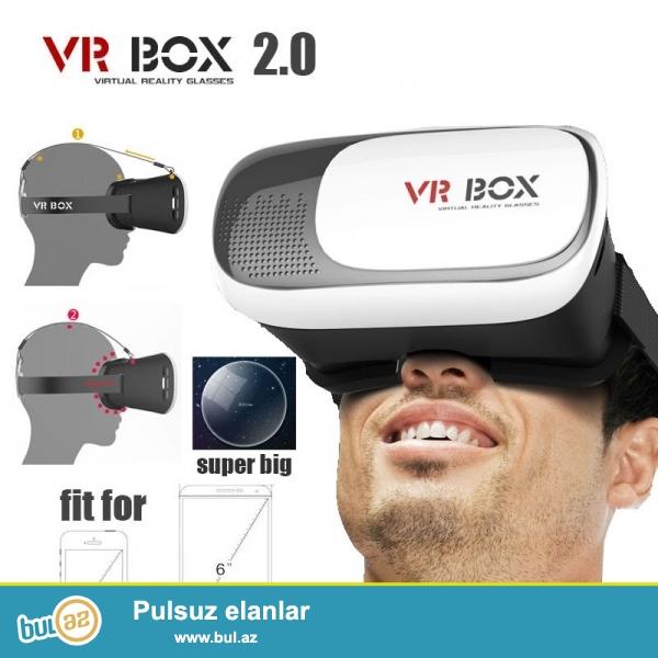 bu eynək ilə siz müxtəlif cür oyunlar oynaya və ya videoları 3D,canlıya yaxın olaraq izləyə bilərsiniz...