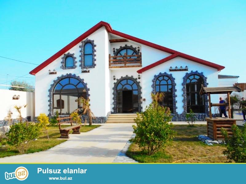 **РУФАТ*АЙНУР** СРОЧНО продается новопостроенная дача в Мардакане, расположенная на 6-ти сотах, 150 кв...