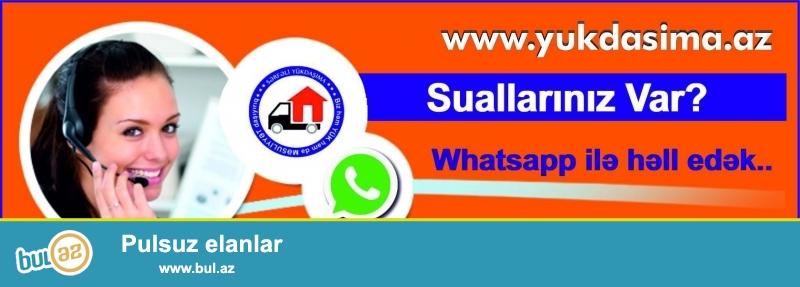 Sərfəli Yük Daşıma ilə bağlı Suallarınızı Whatsapp ilə yaza bilərsiniz...