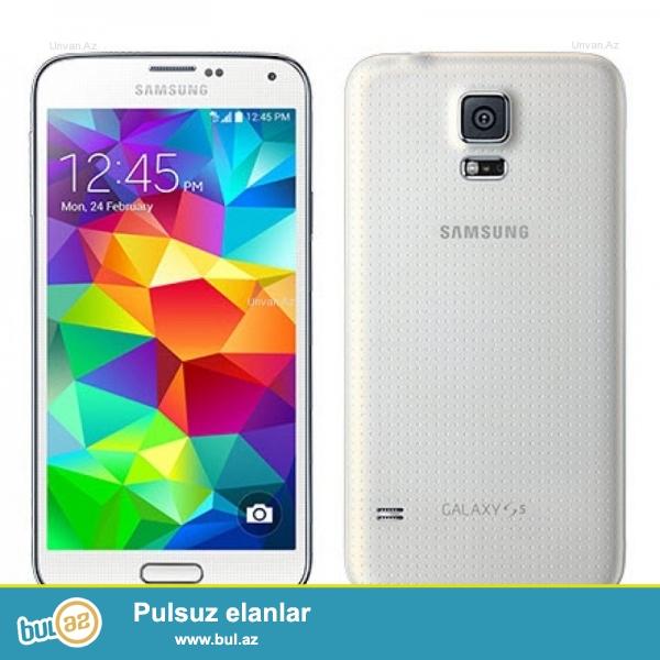 Samsung Galaxy s5 Ideal Veziyyetdedir Hec Bir Problemi Yoxdur Temirde Olmayib Real Alicilara Endirim Olacaq  Whatsappla Elaqe