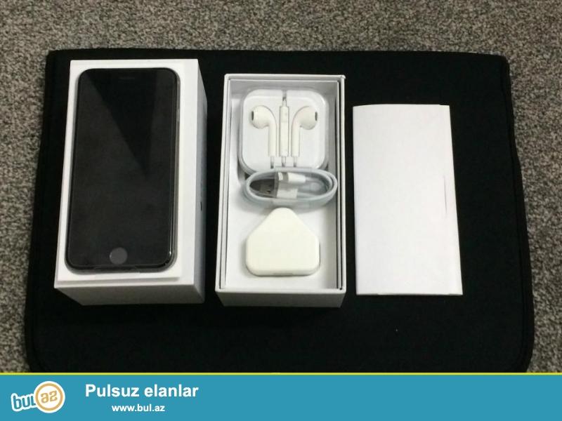 Iphone 6 space grey satilir, yaxsi veziyyetdedi, problemsizdi, qutusu ve aksesuarlari var...