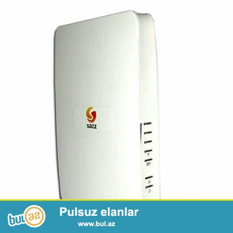 sazz wifi modemi cox guclu aparatdi satmaqda meqsed ev telefonu cekilib onla acilib ona gore ehdiyac olmadiqi ucun satiram az isdifade olunub resmi dillerden alinib 150 manata almiwam 100 man satiram real aliciyla endirim olacaq<br /> <br />