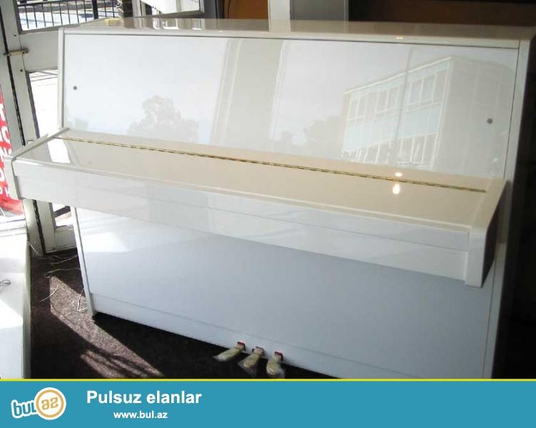 """Almaniya, Çexiya ve Rusiya istehsalı pianolar - İstediyiniz her rengde, her markada ve her modelde orİjİnal pianoları güvenle ala bileceyiniz tek ünvan \\\""""Piano Gallery\\\""""..."""