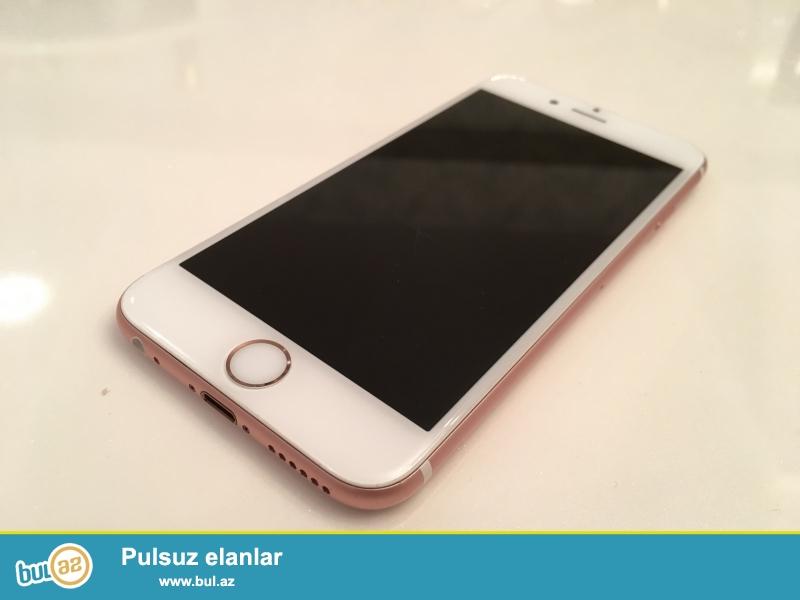 IPhone 6s  RoseGold 64 GB. Heç bir problemi yoxdur, ideal vəziyyətdədir...