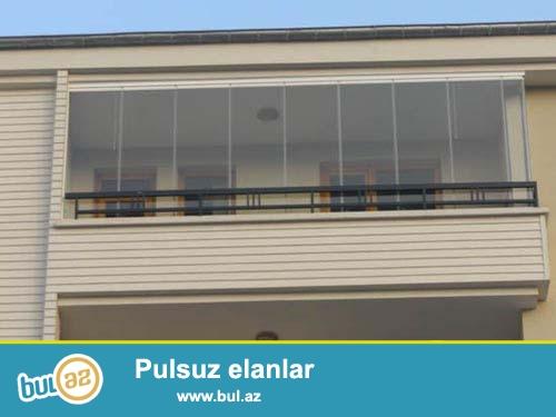 Cam balkon EuroHouse sirkəti olaraq sizə aşagıdakı xidmətləri təklif edirik...