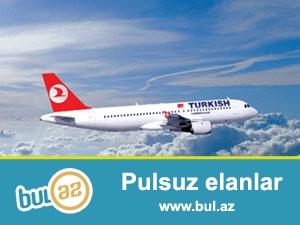 ▶️ DİQQƏT! Türk Hava Yollarından endirim Aksiyası! <br /> <br /> ● GƏNCƏ - İSTANBUL - GƏNCƏ - 240 AZN <br /> ● BAKI - İSTANBUL - BAKI - 290 AZN<br /> **Satış tarixləri: 26...