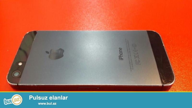 Normal vəziyyətdə öz telefonum iPhone 5 satıram...