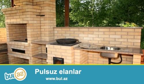 Kamin,mangal,kyre,tendir,sauna pecleri,rus pecilerinin zemaetle gurawdirilmasi 25 ilden artig iw tecrybesine malik usta