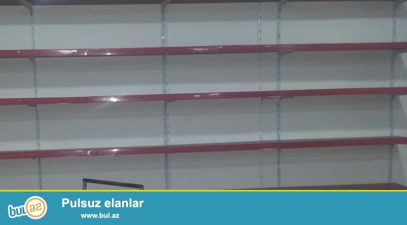 Divara baglanan vitrinler polkalar satilir 7 metredir...