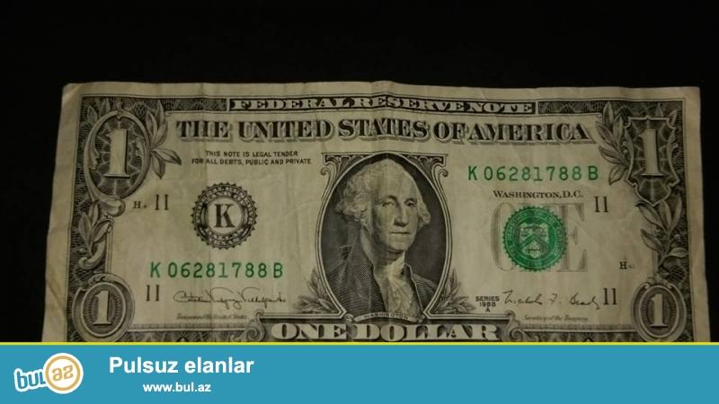 1988 ci ilin 1 dollaridir kohne deyil wekilde gorduyunuzdur