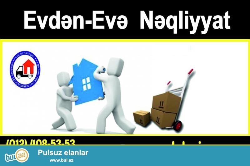 Təcili və Güvənilir Yükdaşımanın Ünvanı - Evdən-Evə Nəqliyyat