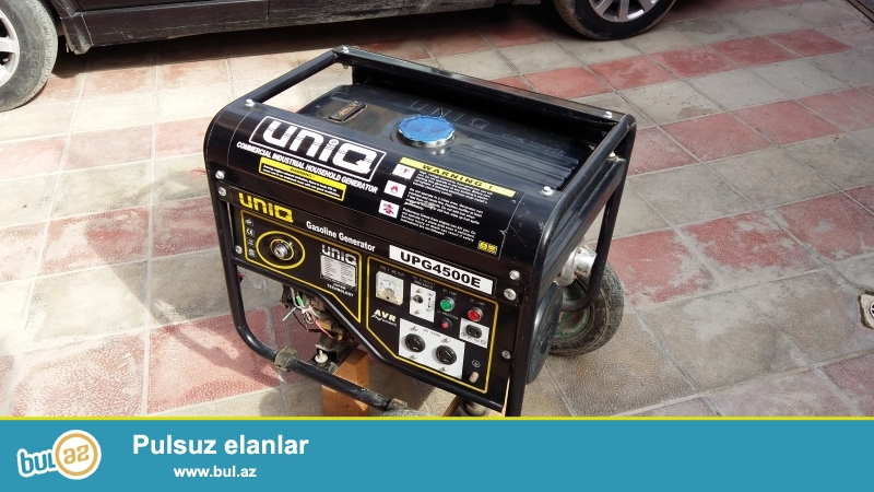 Benzin generatoru satılır. Gücü 5 KVA (kilovatt)...