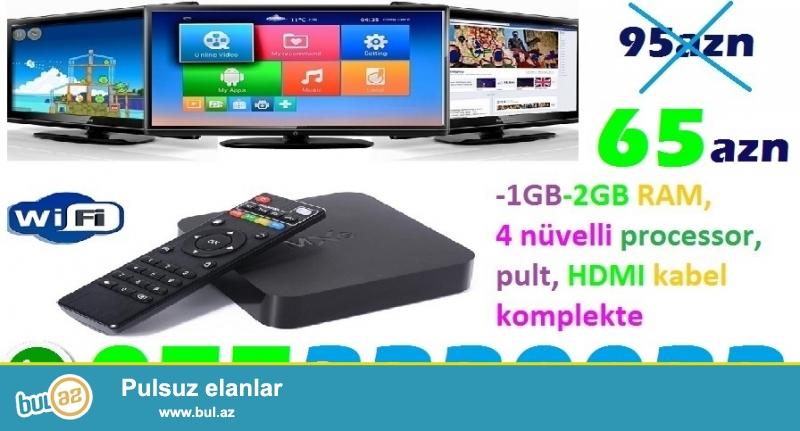 ❗SMART TV BOX - 0773220022 ENDIRIM❗❗❗ <br /> 95AZN YOX CƏMİ 65AZN❗❗❗!!!TƏLƏSİN!!!❗❗❗<br />
