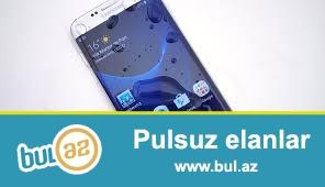 Salam.samsung galxs  s  7 edge  650 azn satilir   telfon tezedi karobka ile verilir orginal nausnik adabtir 32  gb yaddas telfon tam teze veziyetdedi  barmaq izi ile aclis...