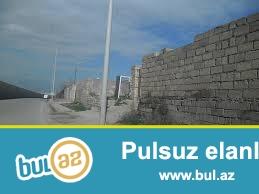 Əmircanda 113 nöm marşuruta,yola 50 mt məsafədə 2 sot torpaq sahəsi satılır...