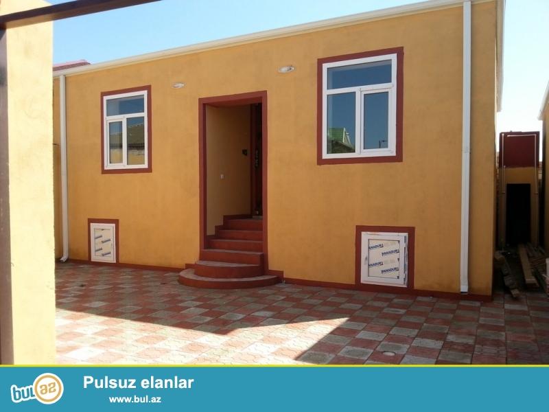 Maştağa qəsəbəsi memmedyarov dairesi 108 nom.mektebin tam kenarinda  3 otaqlı həyət evi satılır...
