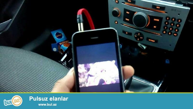 Hər növ maqnitofona aux və USB qowulmasi. <br /> <br /> Mercedes panorama qəbul olunmur...