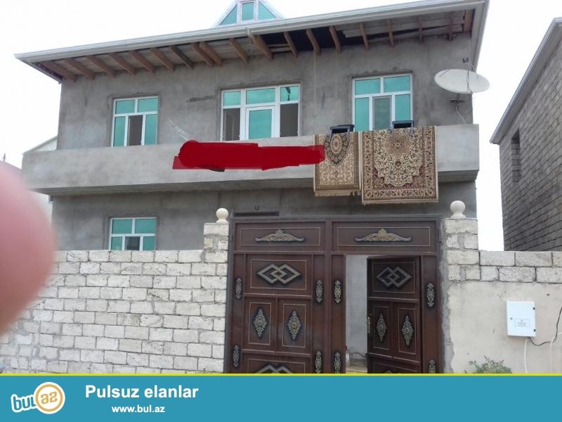 Anaşkində,Koroğlu Metrosuna 6 dəqiqəlik məsafədə,22-ci avtobusun son dayanacağında yerləşən 2 sot torpaq sahəsində ümumi sahəsi 210 kv mt olan 2 mərtəbəli həyət evi satılır...