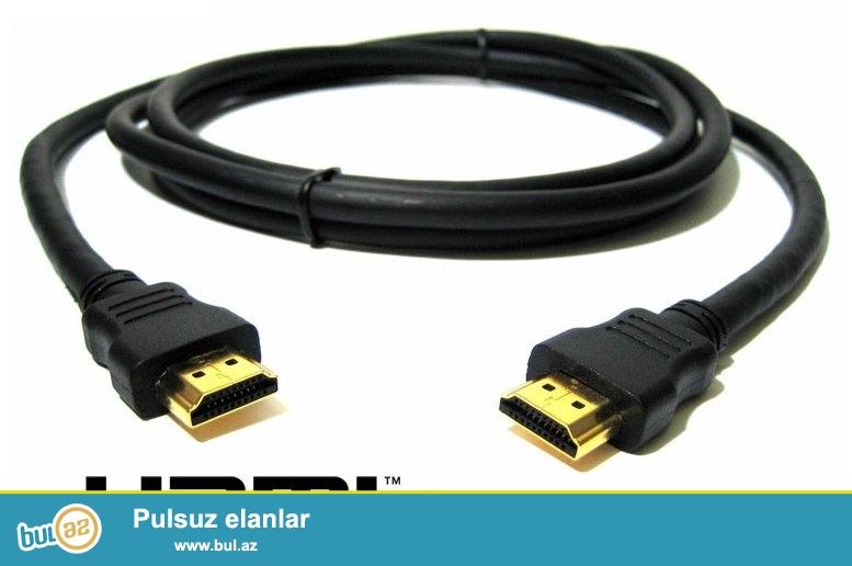 HDMI 15 metr uzunluğunda. İstifadə olunmayıb. Bağlamadadır.