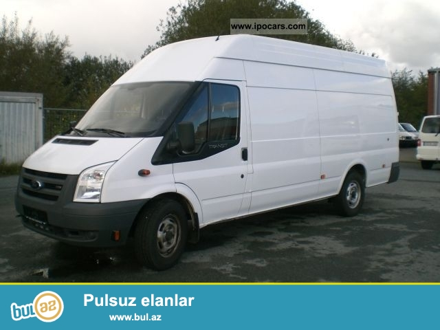 Sexsi Ford Transit avtomobilimle sirketlerde is axtariram...