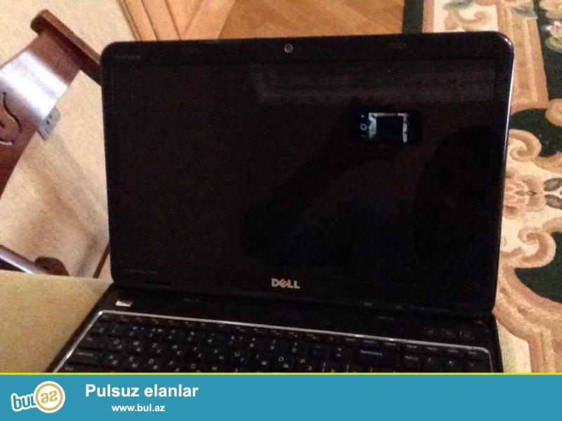 Notebook Dell Insprion 5110. Xüsusiyyətləri: Hard Disk - 500GB, Ram - 4GB DDR3 (6-ya qədər artırmaq mümkündür), Videokart - notebookun içində 2 ədəd vardır...