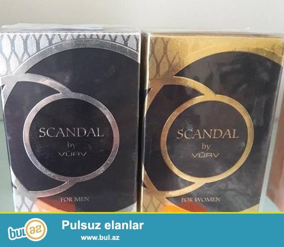 1.Scandal by Vurv(Dubay) - 100ml<br /> Qiyməti - 75azn<br /> 2...