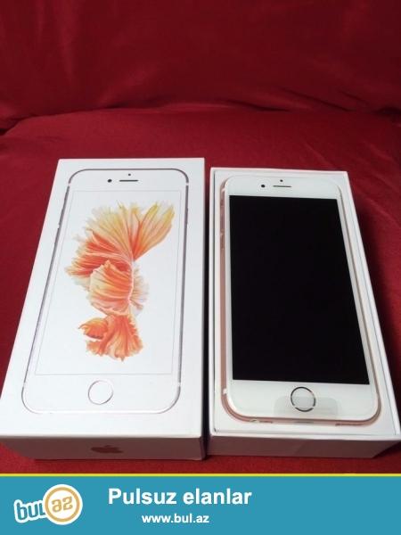 Iphone 6s satilir, telefonlar pakofkada yenidir, Dubay versiyasidir, rengleri var...