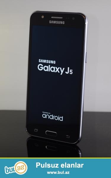 Salam Samsung Galaxy J 5 satiram ela veziyyetdedir karopkasi adaptoru senedleri 4 ayda qarantisi var qara rengdi ...