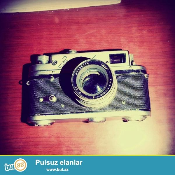 Fotoaparatın bütün mexanizmləri işlək vəziyyətdədir...