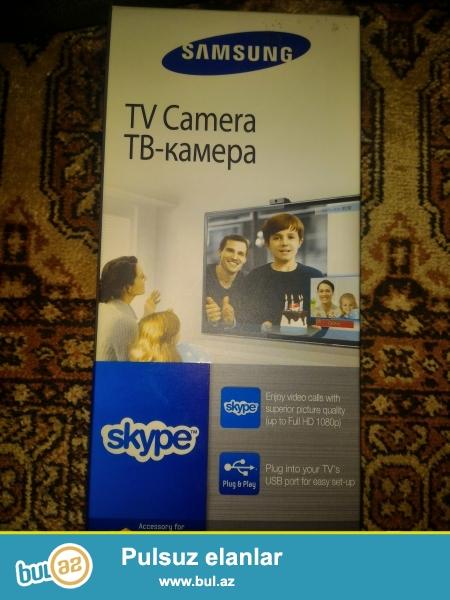 Samsung Smart TV üçün kamera. Yalnız şəkildə göstərilən modellərdə işləyir...