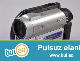 Rusiyadan gelmis,teze,hec islenmemis original sony handycam video camerasi satilir veya Iphone 5 telefonu ile barter olunur...