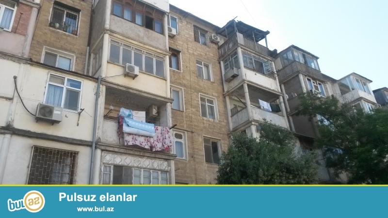 Продаётся  1 кoмнатная   квартира  в Ясамальском районе,  на ул...