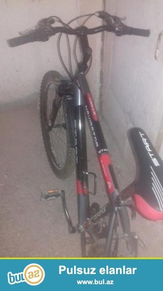 Bike velosiped start navigator esl genc velosipedi bu yay 2 ay surulub,parkda surulub,26 liqdir butun zapcasari originaldir tekerler yeyilmiyibdir