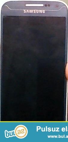 S4 mini göy ekran.. Telefonun platası yanıb deyə satıram...