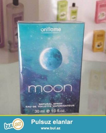 1.Moon(Oriflame) - 30ml<br /> Qiməti - 40azn<br /> 2...