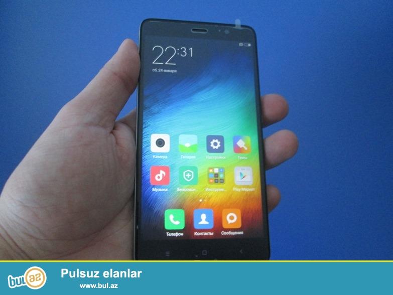 Təzə, istifadə olunmayıb. Sərfəli qiymətə dünya səviyyəli brend smartfon metal korpuslu Xiaomi Redmi Note 3 satılır ...