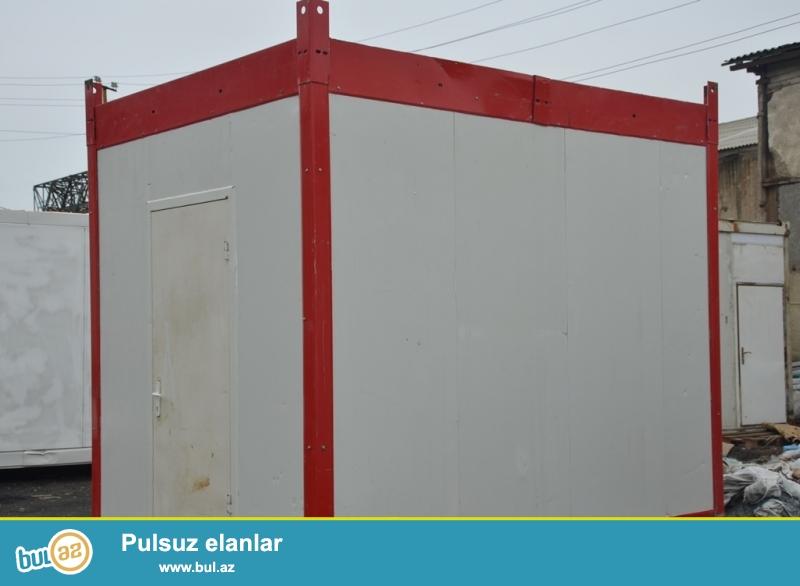Türkiyə zavod istehsalı 6liq SENDVİC PANELdən <br /> KONTEYNER satilir ve icarəyə verilir...
